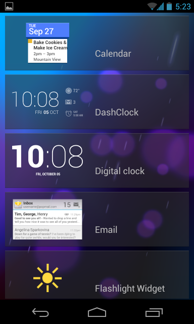 list-of-lock-screen-widgets