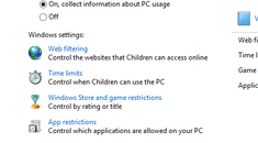 How to Control Internet Access and More With Windows 8's Parental Controls