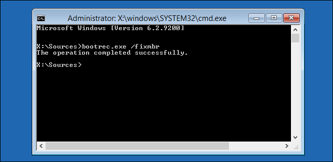 windows-bootrec-exe-fixmbr