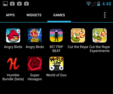 android-app-drawer-categories