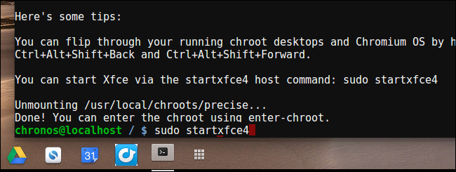 launch-linux-chroot-with-crouton