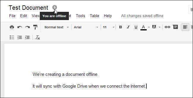 google-drive-offline-editing