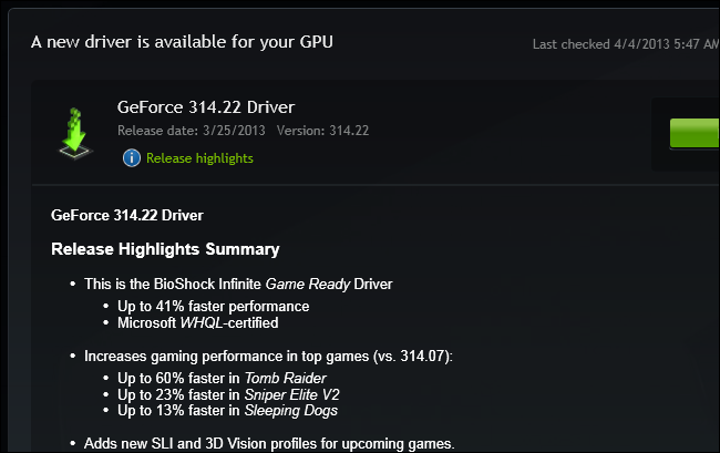 new-graphics-driver