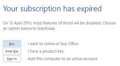 How to Extend Your Office 2013/365 Trial to 180 Days