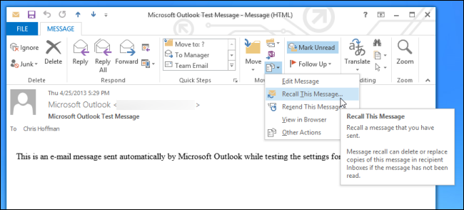 how to tell if an email has been read outlook
