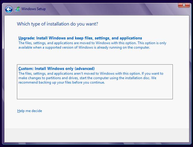 windows-8-upgrade-vs-custom