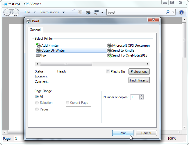 windows 7 pdf software