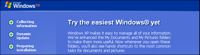 how to upgrade from windows xp