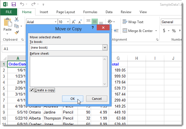 How to Easily Move or Copy a Worksheet in Excel 2013 – What is a Worksheet in Excel