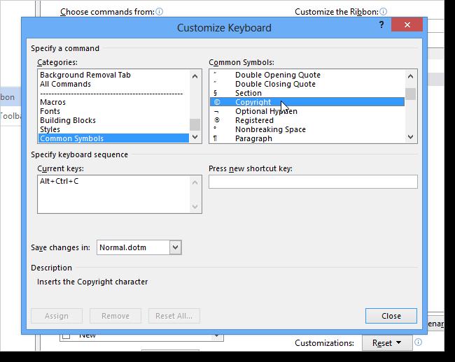 09_selecting_symbol_for_shortcut