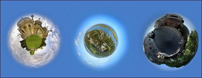 How to Create Photo Planets from Panoramic Photographs