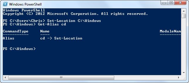 windows-powershell-get-alias
