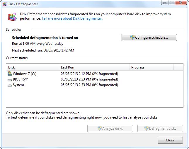 disk-defragmenter