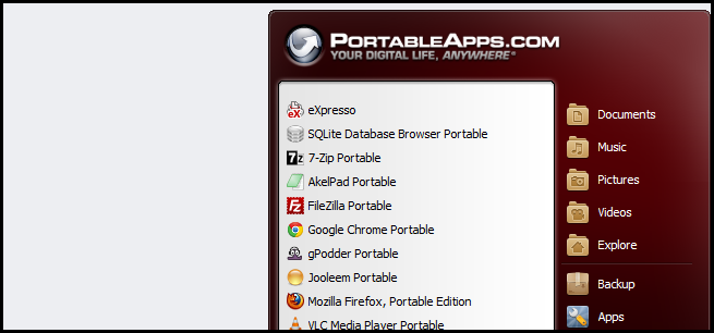 How to Make a Portable Application The Default File Handler