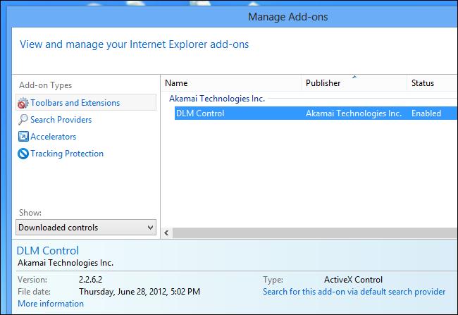 view-downloaded-activex-controls