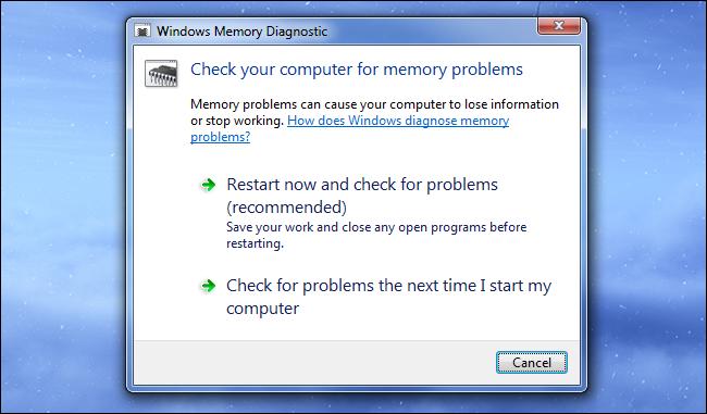windows-memory-diagnostic