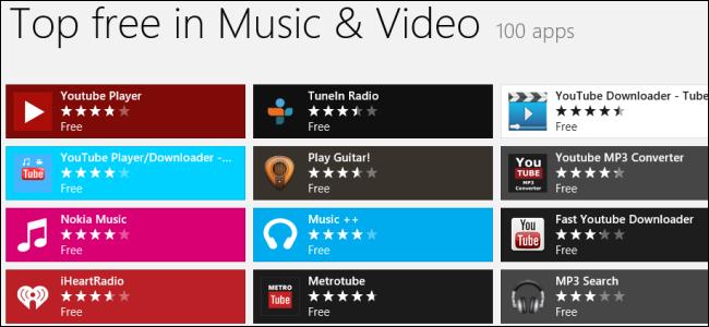 windows-store-music-video