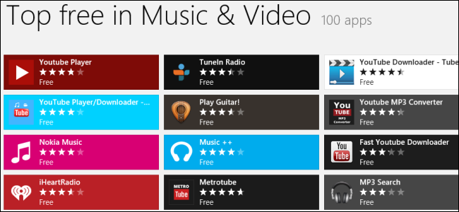 windows-store-music-video