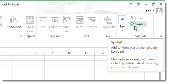 How To Assign Keyboard Shortcuts To Symbols In Excel 2013