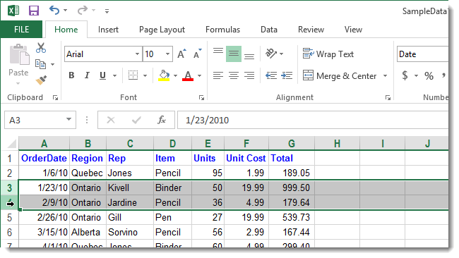 How To Hide And Unhide Rows Columns In Excel 2013. Worksheet. Epplus Worksheet Header At Mspartners.co