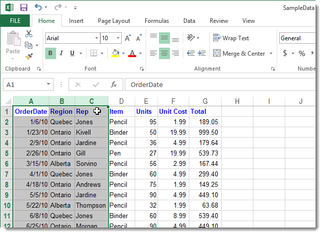 how to delete alternate rows in excel 2013