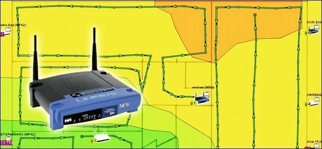Wifi Network Map on