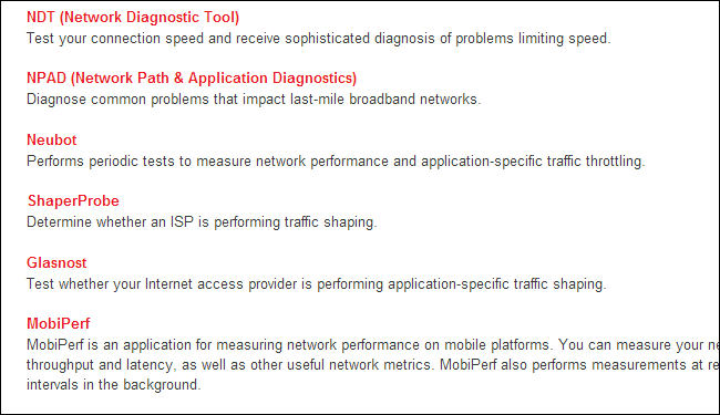 m-lab-internet-connection-testing-tools
