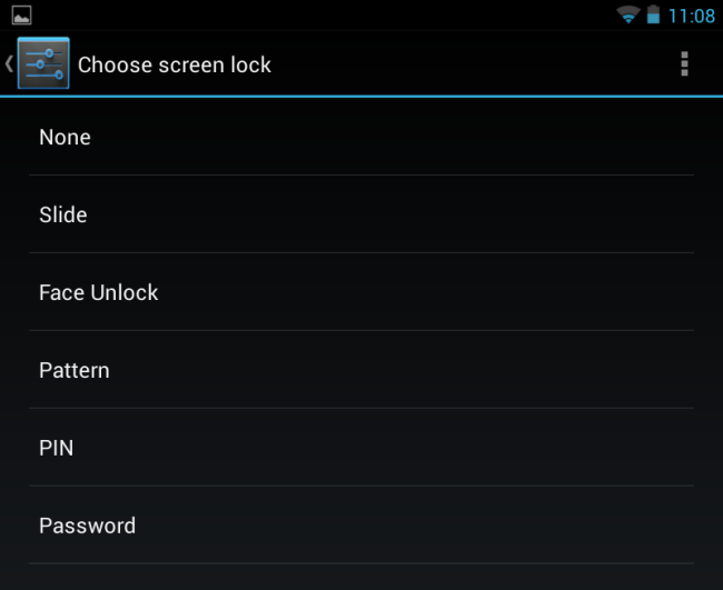 android-choose-screen-unlock