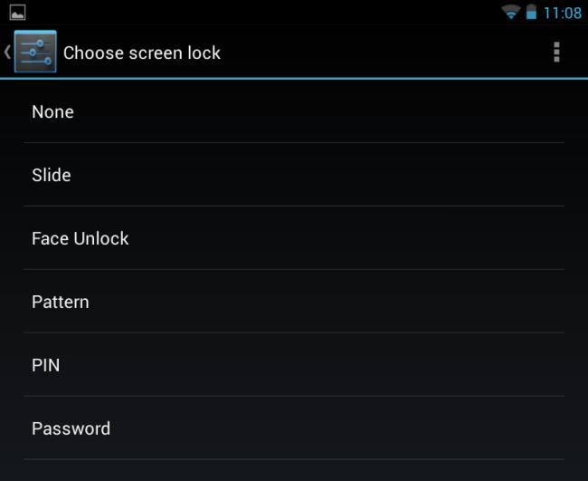 android-choose-screen-unlock