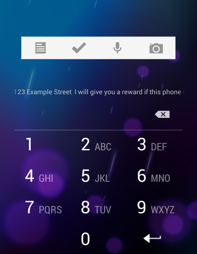 android-lock-screen-owner-info