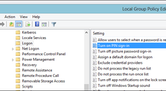 How to Enable Pin Sign-in For Domain Users on Windows 8