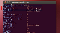 How to Check if Your Linux System Is 32-bit or 64-bit