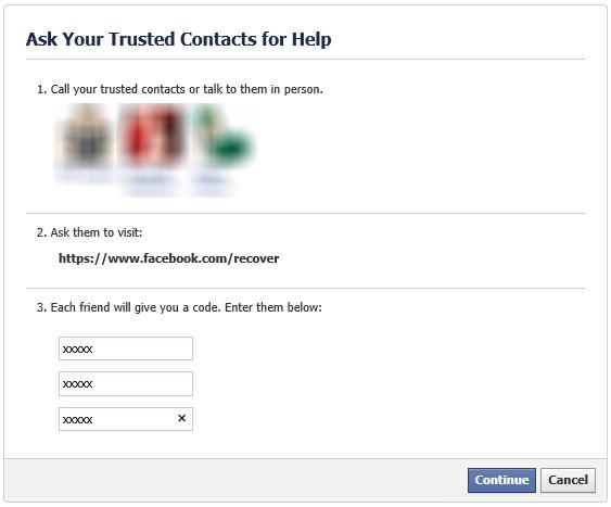 كيفية استخدام جهات اتصال موثوقة في Facebook للوصول إلى حسابك المقفل