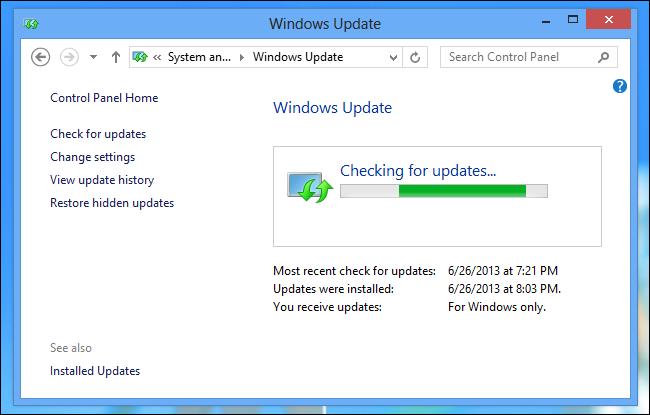 update-windows-on-windows-8
