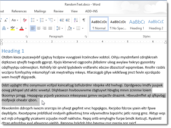 how to move a page on word