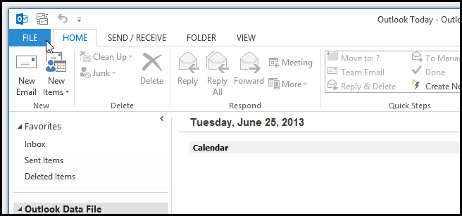How to Enable or Disable The Forgotten Attachment Reminder in