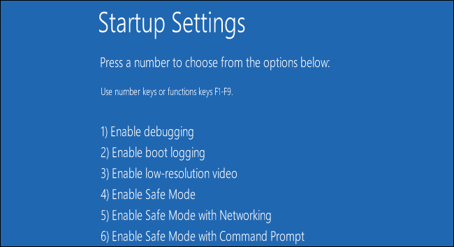 How to Boot Into Safe Mode on Windows 10 or 8 …