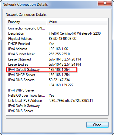 locate-router's-ip-address