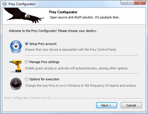 configure-prey-on-windows