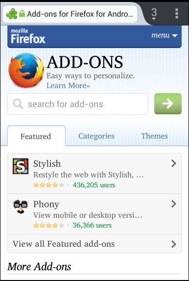 firefox-for-android-add-ons