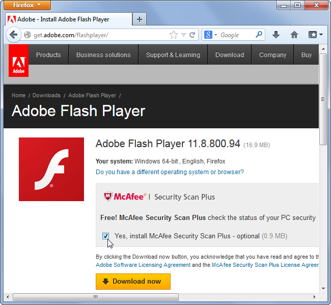 flash-mcafee-junk