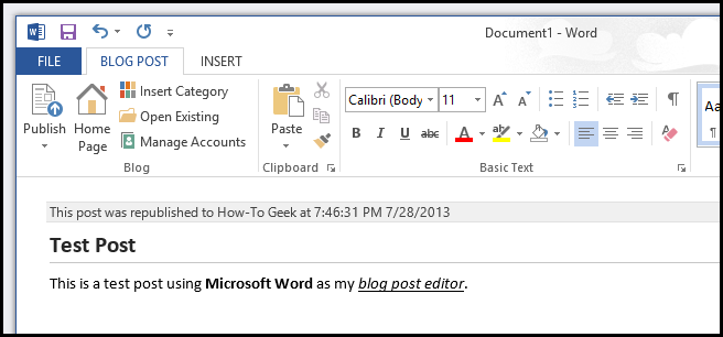 how to create an organized work on ms word