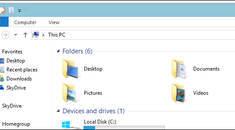 """How to Remove the """"Folders"""" From My Computer in Windows 8.1"""