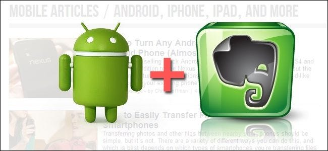 How to Enable Full-Page Evernote Clipping on Android Devices