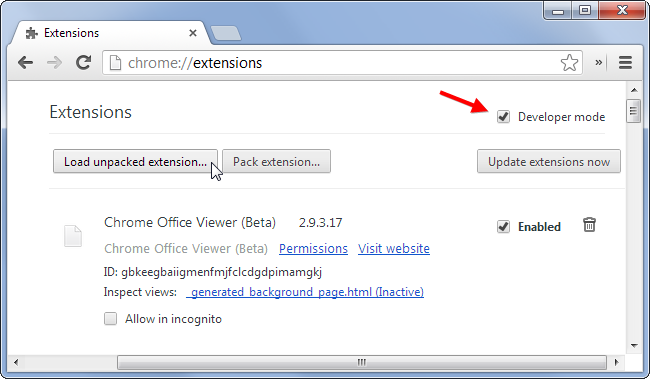 load-unpacked-extension-in-chrome