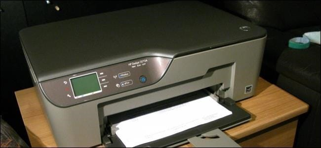 how to connect remotely a printer from computer