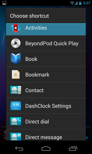 nova-launcher-create-activities-shortcut