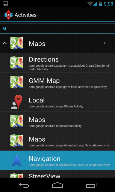 nova-launcher-create-navigation-direct-shortcut
