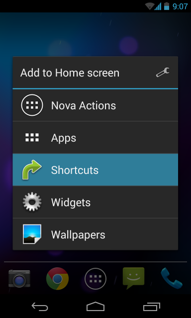 nova-launcher-create-shortcut