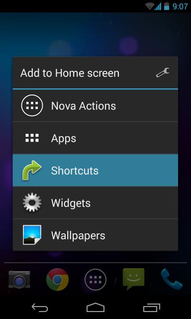 nova-launcher-create-shortcut